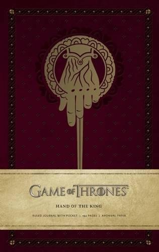 Book cover from Game of Thrones: Hand of the King Hardcover Ruled Journal (Insights Journals) by HBO
