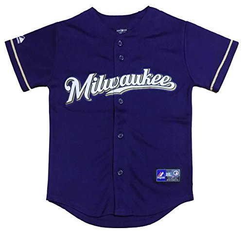 Brewers Youth Alternate Jersey - 3