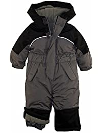 iXtreme Little Boys' Snowmobile One Piece Winter Snowsuit Ski Suit Snowboarding, Charcoal, 6