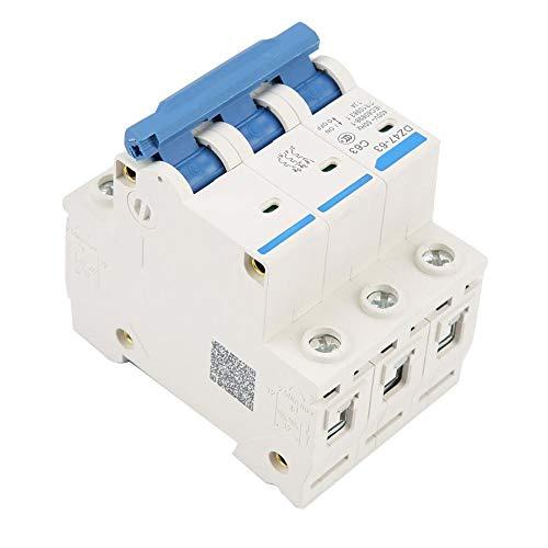 電流遮断器DZ47-63 3極63A RCCB残留電流遮断器220/380V