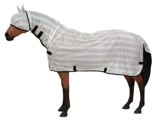 Tough 1 Contour Poly Fly Sheet with Neck Cover, Small Horse Fly Sheet