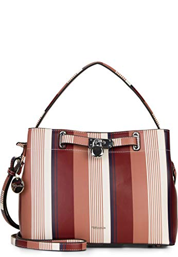 Tamaris Astrid Handbag Red-Stripes