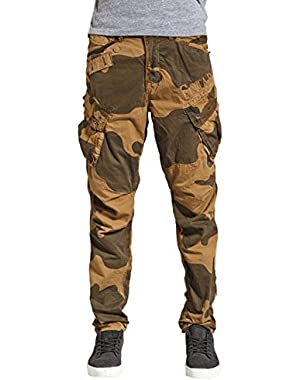 G Star RAW CO Rovic Tapered Cargo Pants in Fox, Size W33/L32