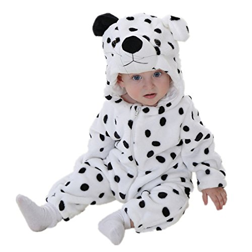 Unisex Baby Halloween Costumes Cartoon Outfit Homewear Snow Leopard 90