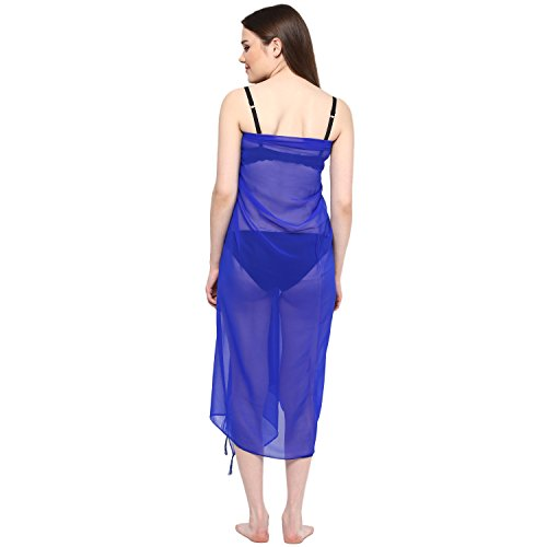 01cd8f50bd outlet Sarong Women Solid Plain Beach Swimsuit Wrap Plus Size Sheer Cover  ups