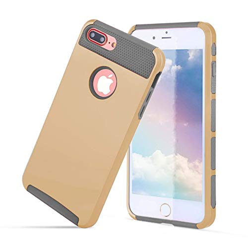 Compatible with iPhone 6S case/iPhone 6 case,Ultra Defender TPU + PC Shock Absorbent Protective Heavy Duty Anti Slip Skin Case - for Apple iPhone 6S & 6 4.7