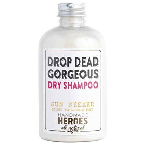 Natural Vegan Dry Shampoo Powder for Light Hair Blondes (2.4oz)