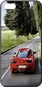 Ferrari 458 Italia Ferrari Italia Apple iPhone 5/5s SLIM Case Carcasa [SF Matte Black (negro)] SUPER SLIM + SF COATED + PERFECT FIT Caso duro Premium Funda Cáscara Caso Cubrir