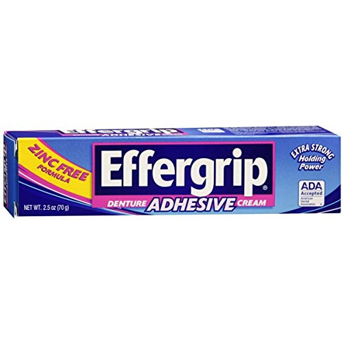 Effergrip Denture Adhesive Cream 2.5