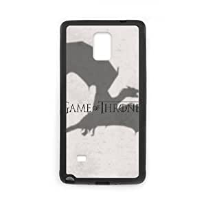 Game Of Thrones Dragon Samsung Galaxy Note 4 Cell Phone Case Black DIY Gift xxy002_5187403