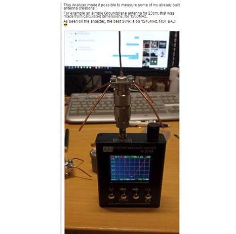 Amazon com: FidgetFidget N2061SA UV RFID Vector Impedance Antenna
