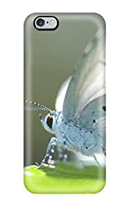 Awesome White Butterfly Animal Butterfly Flip Case With Fashion Design For Iphone 6 Plus