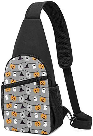 ボディ肩掛け 斜め掛け ハロウィン ショルダーバッグ ワンショルダーバッグ メンズ 軽量 大容量 多機能レジャーバックパック