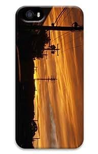 iPhone 5S Customized Unique Print Design Sunset 75 iPhone 5 5S Cases 3D
