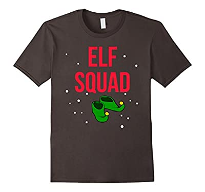 Funny Christmas Elf Squad T-shirt