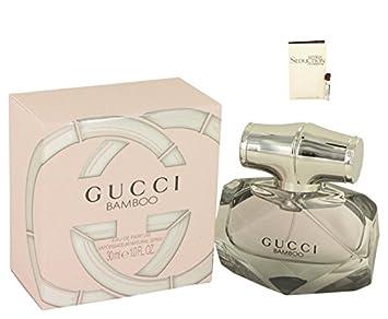 fc9e0c12f Amazon.com : G U C C I Bamboo Perfume 1 oz 30 ml. Eau De Parfum Spray For  Women [PT] Free! Sample Perfume Spark Seduction 0.06 oz Vial : Beauty
