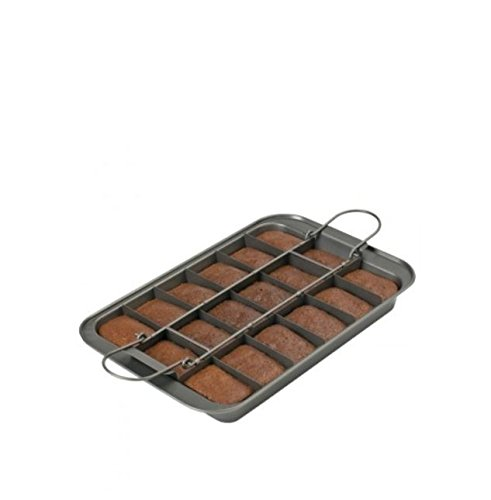 Chicago Metallic Professional Slice Solutions Brownie Pan, 9-Inch-by-13-Inch - Chicago Metallic Brownie Pan