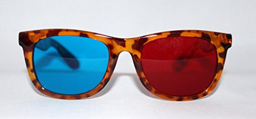 Coolest Anaglyph 3d Glasses in Tortoise - Eyewear Hip