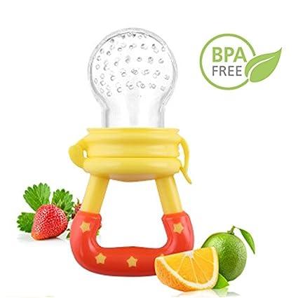 Bebé sólido alimentos frescos alimentador frutas bolsa de ...