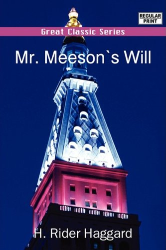 Download Mr. Meeson's Will pdf