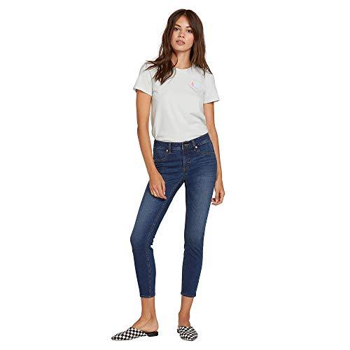- Volcom Women's Junior's Liberator Legging Fit Jean, Sandy Indigo, 28