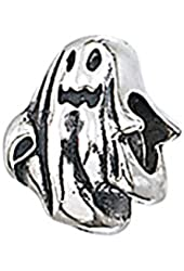 Zable Sterling Silver Ghost Bead