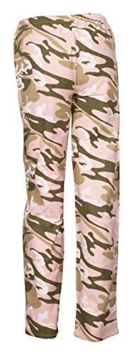 Ninety-One - Pantalones de pijama/ir por casa para mujer Pink Camouflage