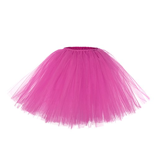 Flyingtutu Baby Girls Partially Lined Handmade Tutu Skirts 18-24 month shockingpink