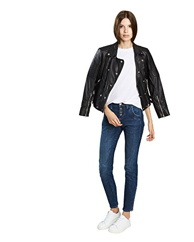 PULZ Melina Loose Jeans, Damen, W29/L32, Blau