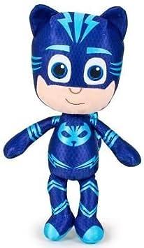PTS - PJ MASK GATUNO Gattoboy Felpa Gigante XXL 60cm Carácter PJ Masks: Héroes en Pijamas Traje Azul