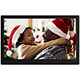 NIX Advance Digital Photo Frame 17.3 inch X17B. Electronic Photo Frame USB SD/SDHC. Digital Picture Frame with Motion Sensor. Remote Control and 8GB USB Stick Included