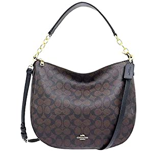 COACH Lightweight Signature Elle Hobo