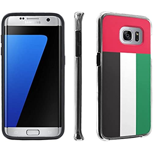 Samsung Galaxy S7 Edge / GS7 Edge [5.5 Screen] Case, [SkinGuardz] Hybrid Tough Impact Resistant Case - [United Sales