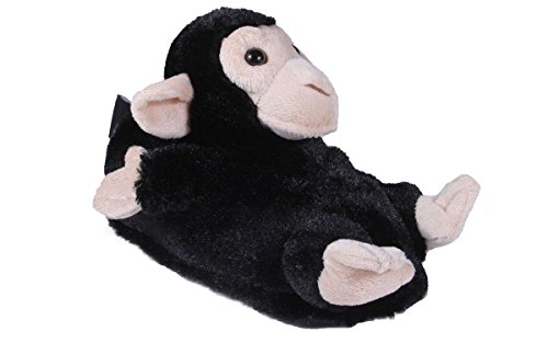 - 9010-2 - Monkey - Medium - Happy Feet Animal Slippers