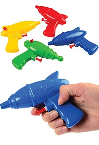 12 -Superhero squirt/water guns