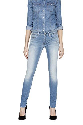 Replay Luz, Skinny Jeans Femme Bleu (Blue Denim 10)
