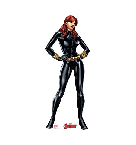 Black Widow - Marvel's Avengers Animated - Advanced Graphics Life Size Cardboard Standup
