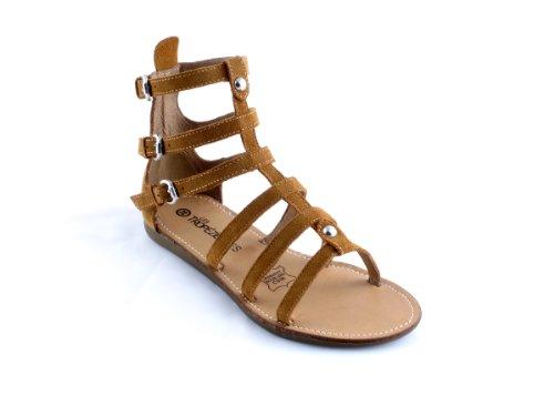 LES TROPEZIENNES Gladiator-sandalen chypre Damen braun