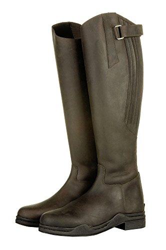 HKM bota - country -, longitud estándar / - ancho - marrón