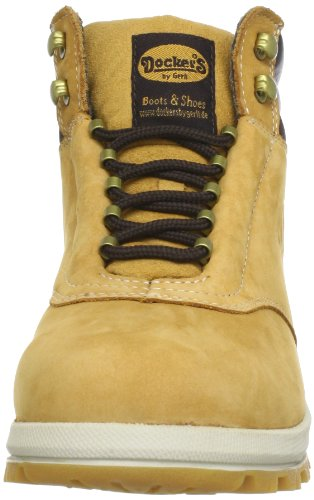 003093 de Botas hombre Dockers Tan 331530 Golden cuero Beige Beige Oq5HHBw