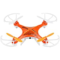 Top Quality Top Flyer Cyclone Remote Control Quadcopter RC Drone 2.4GHz 4-Channel with Gyroscope 360 Degree Flips with camera, Long Flight Distance and Flight Time, Light Weight, Great Fun