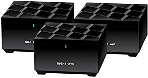 Netgear Nighthawk Whole Home Mesh WiFi 6 System, 3-Pack