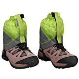 MAGARROW Gaiters Lightweight Waterproof Hiking Ankle Gaiters (Green & Gray)