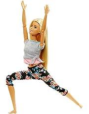Barbie - Muñeca Fashionista movimiento sin límite , rubia - (Mattel FTG81)