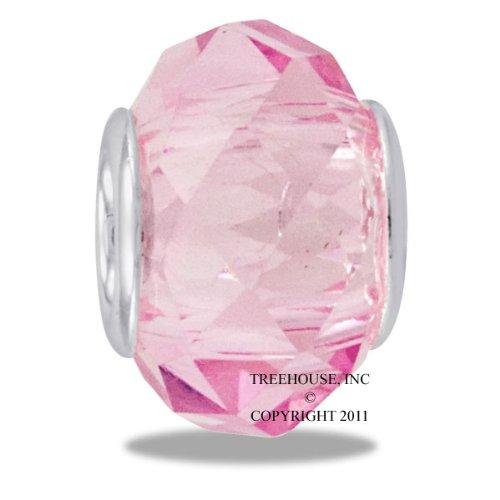 - DaVinci Bead October Glass Birthstone - Jewelry Bracelet Memories Beads DB44-2-DAV