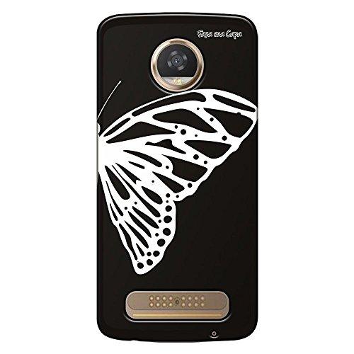 Capa Grafite Personalizada Motorola Moto Z2 Play XT1710 - Borboleta - GF10