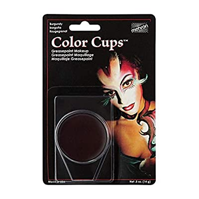 Mehron Makeup Color Cups (.5 Ounce) (Burgundy): Toys & Games