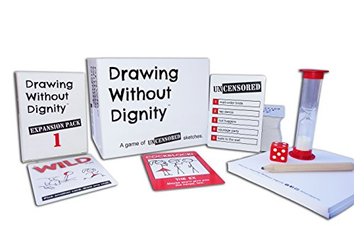Drawing Without Dignity Combo Pack: Party Game + Expansion Pack 1