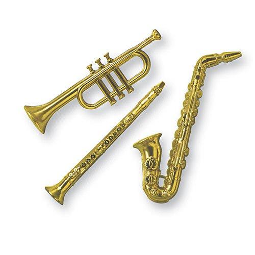 Kazoo Toys - Beistle 55879-GD Party Supplies, 17