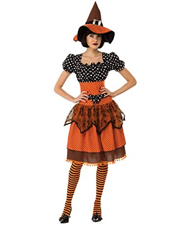 Rubie's Women's Standard Polka Dot Witch, as as Shown, Large